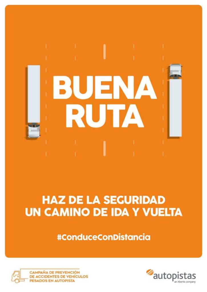 Copy, Creativo, SEO, Javier Debarnot, autopistas, responsabilidad, conducción, camiones, buena ruta