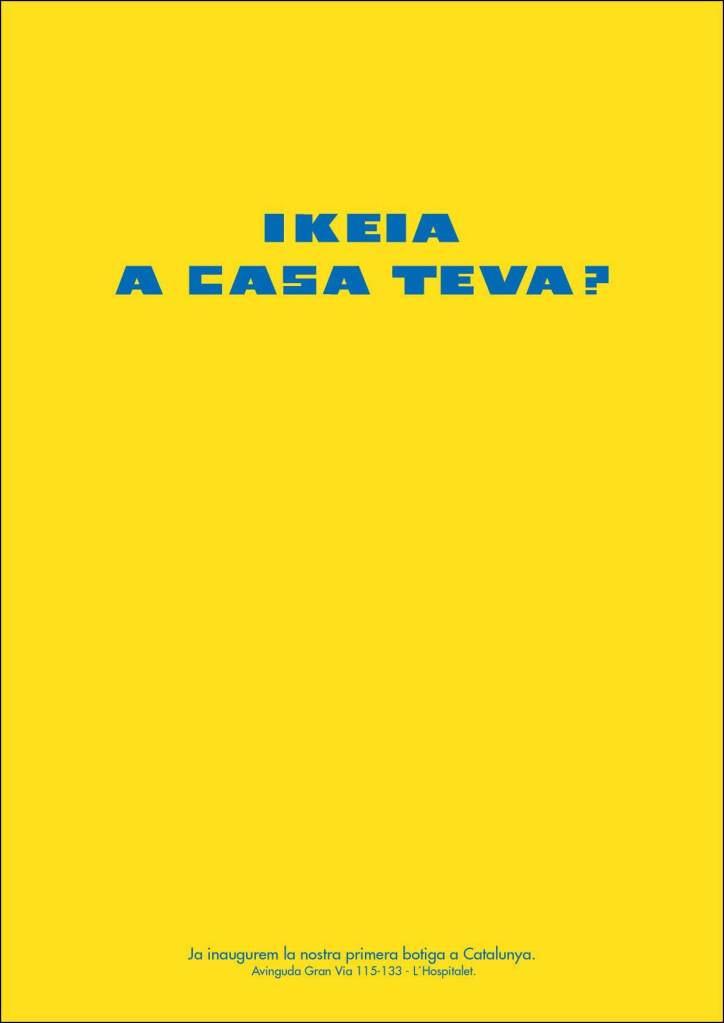 Copy, Creativo, SEO, Javier Debarnot, Ikea, catalán, inauguración, muebles