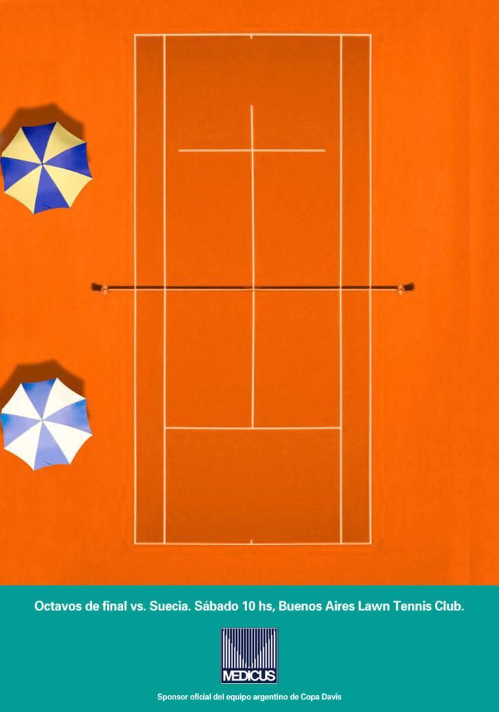 Copy, Creativo, SEO, Javier Debarnot, Medicus, tenis, Copa Davis, deporte