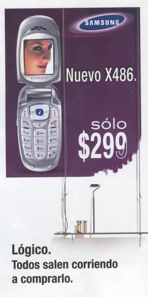 Copy, Creativo, SEO, Javier Debarnot, Samsung, móviles, oferta