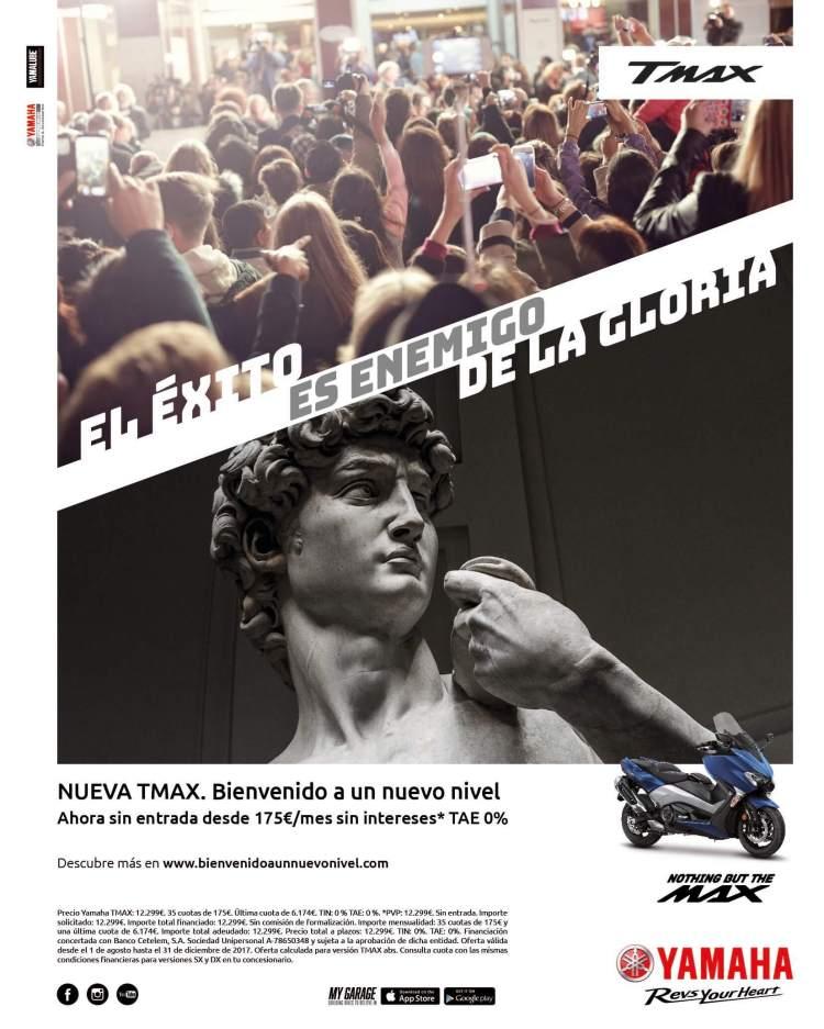 Copy, Creativo, SEO, Javier Debarnot, Yamaha, gloria