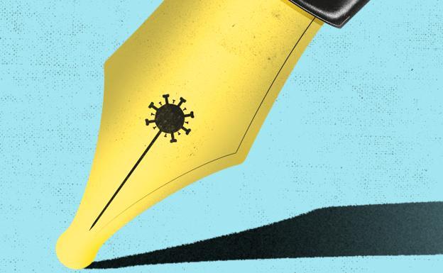 Javier Debarnot copy SEO contenidos redactor creatividad ser creativo con los copys en la cuarentena pluma